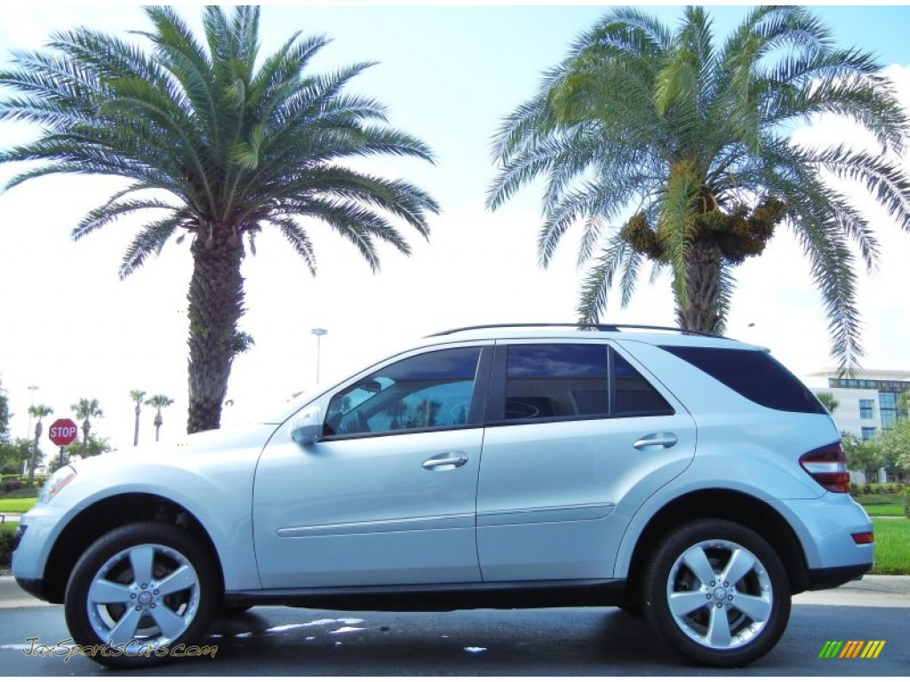 2009 mercedes benz ml 350 4matic in iridium silver for Mercedes benz ml 350 2009