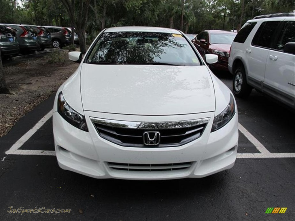 2011 Honda Accord Lx S Coupe In Taffeta White 009383