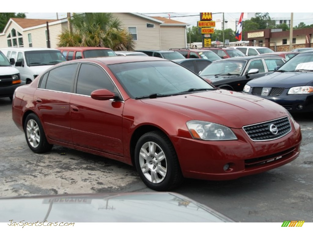 2005 nissan altima 2 5 s in sonoma sunset metallic 268510 jax sports cars cars for sale in. Black Bedroom Furniture Sets. Home Design Ideas