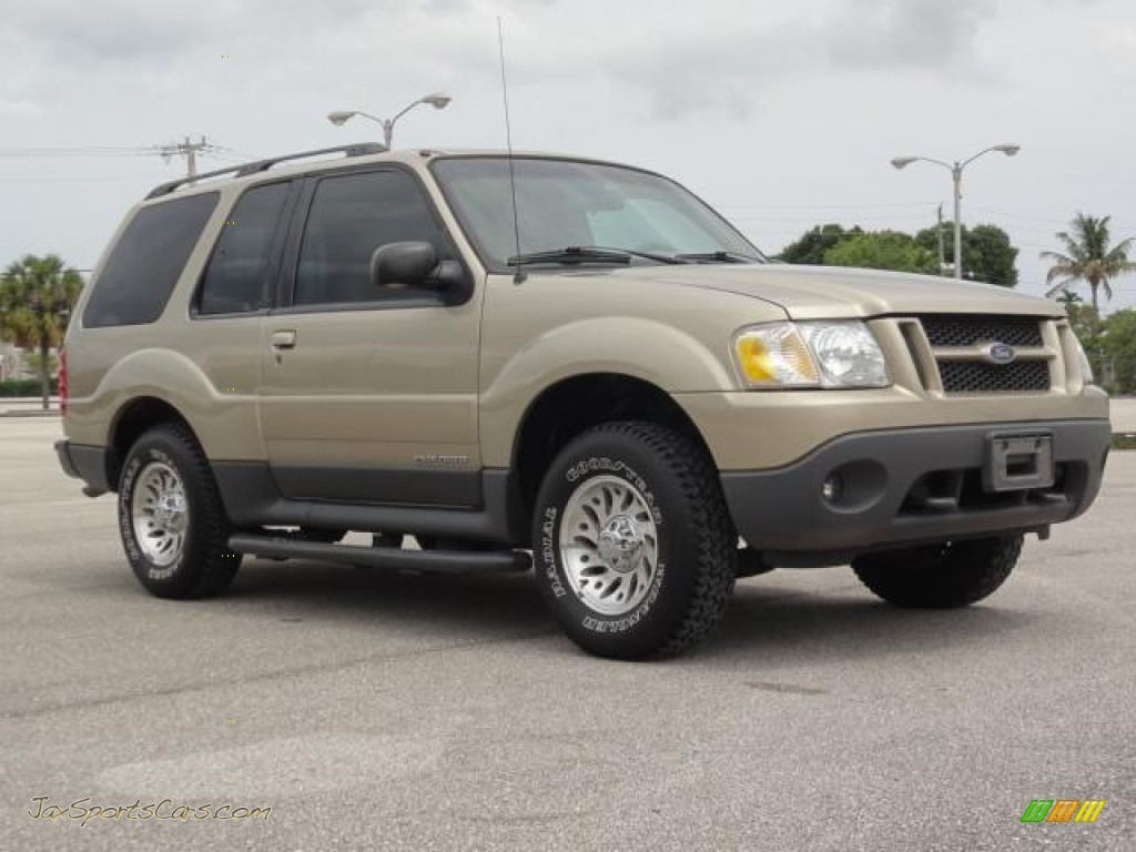 2001 ford explorer sport in harvest gold metallic c26566 jax sports cars cars for sale in
