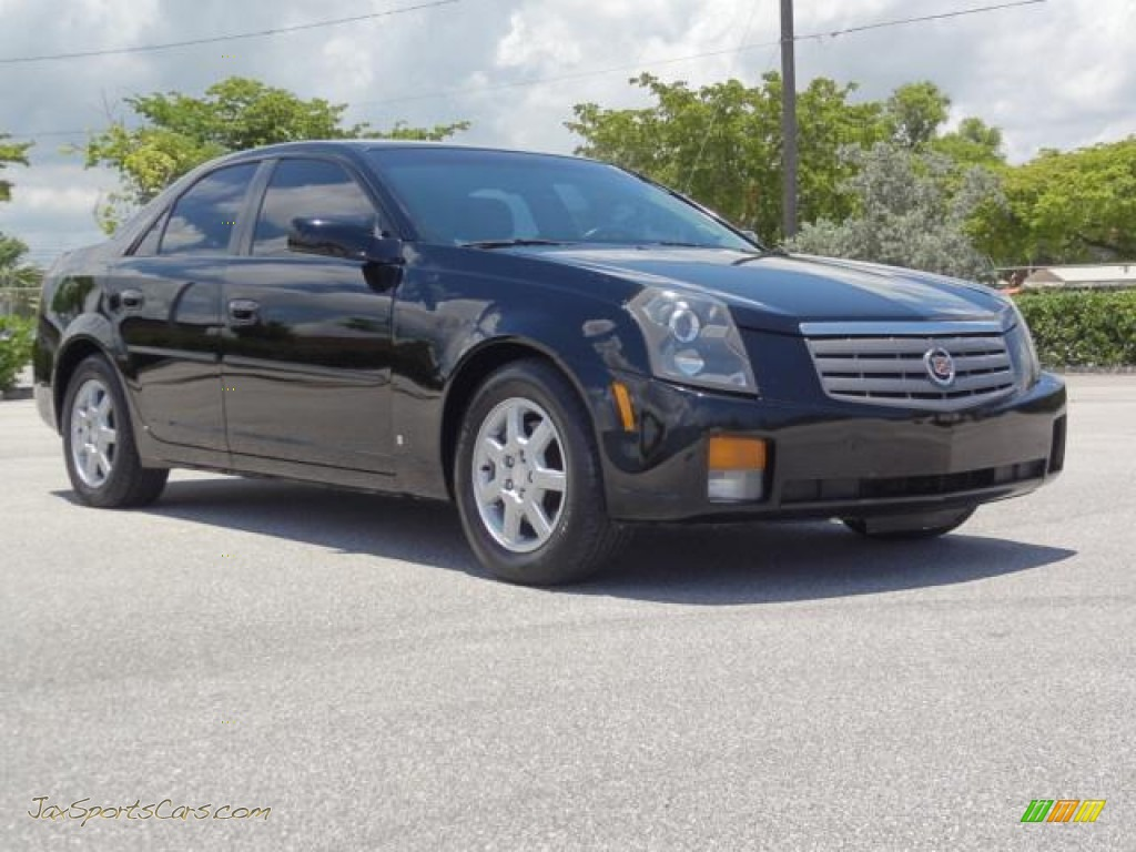 2006 cadillac cts sedan in black raven 107820 jax sports cars black raven ebony cadillac cts sedan publicscrutiny Image collections