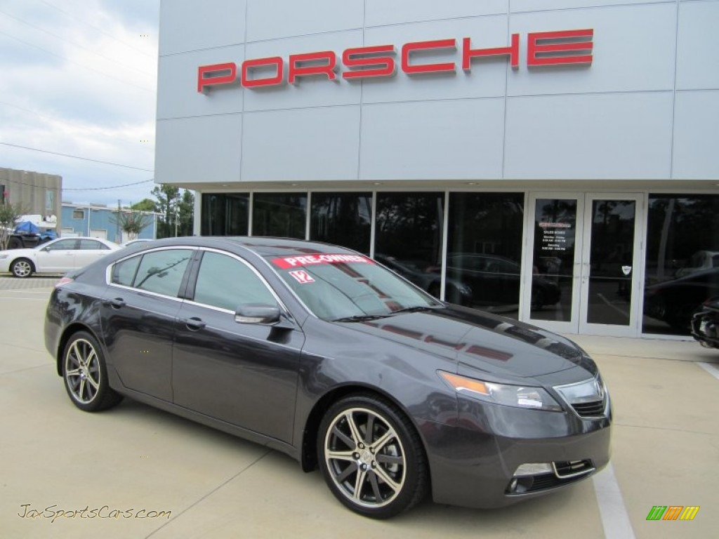 2012 Acura Tl 3 5 Advance In Graphite Luster Metallic