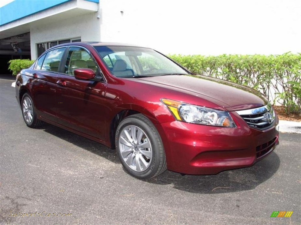 2012 Honda Accord Ex L Sedan In Basque Red Pearl Ii