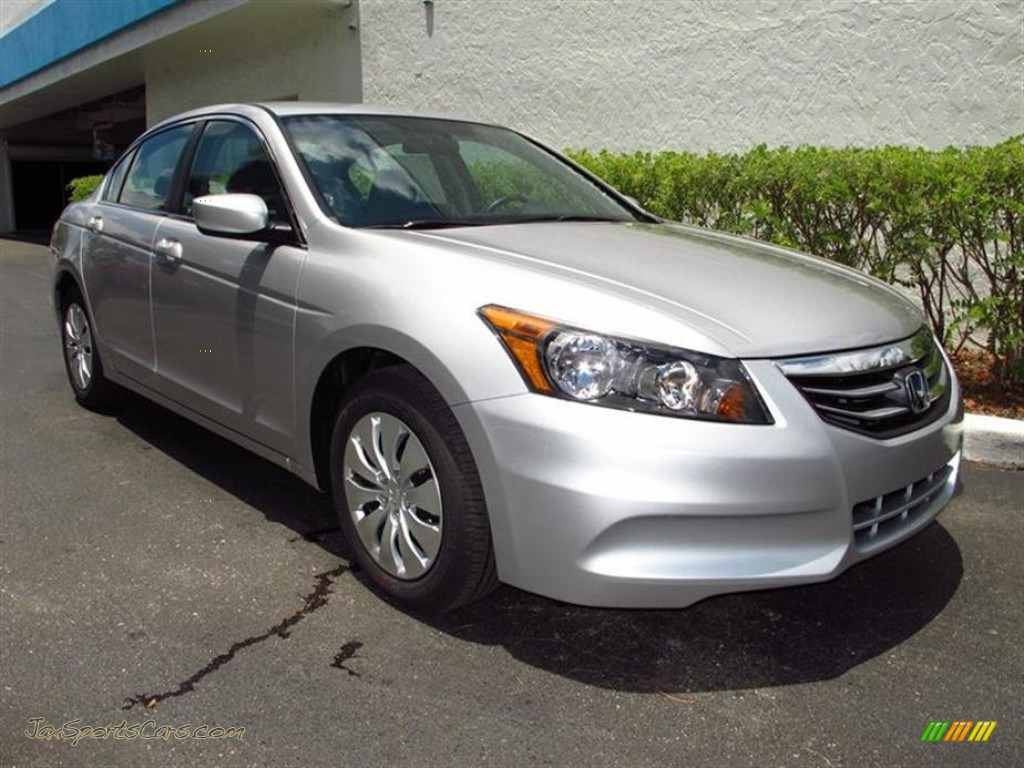 2012 Honda Accord Lx Sedan In Alabaster Silver Metallic