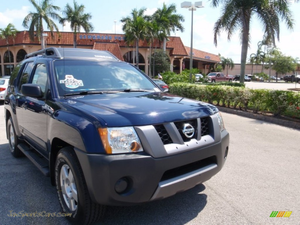 2008 nissan xterra s in midnight blue 503013 jax sports cars cars for sale in florida. Black Bedroom Furniture Sets. Home Design Ideas