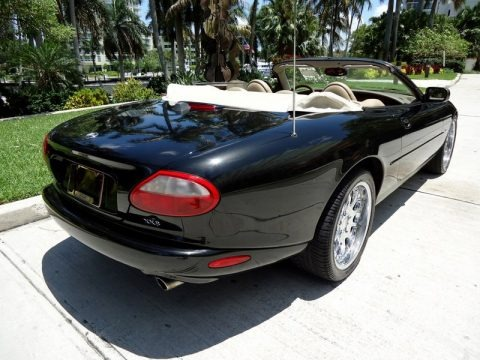 Anthracite Metallic 1998 Jaguar XK XK8 Convertible