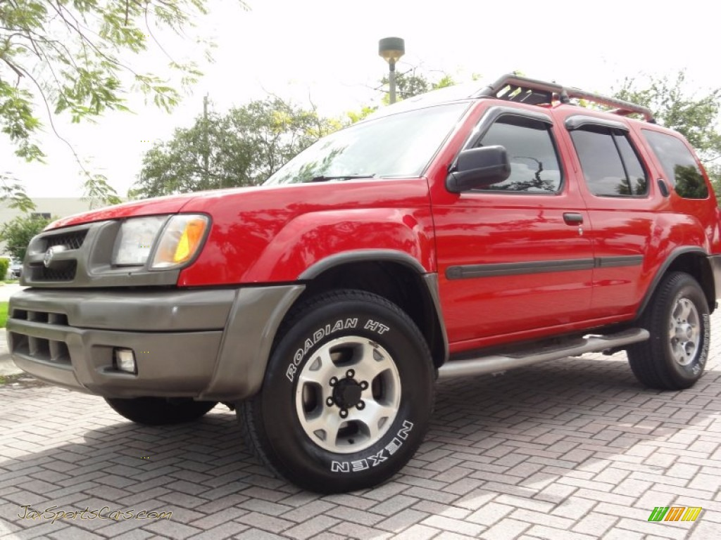 2000 nissan xterra se v6 4x4 in aztec red 528290 jax. Black Bedroom Furniture Sets. Home Design Ideas