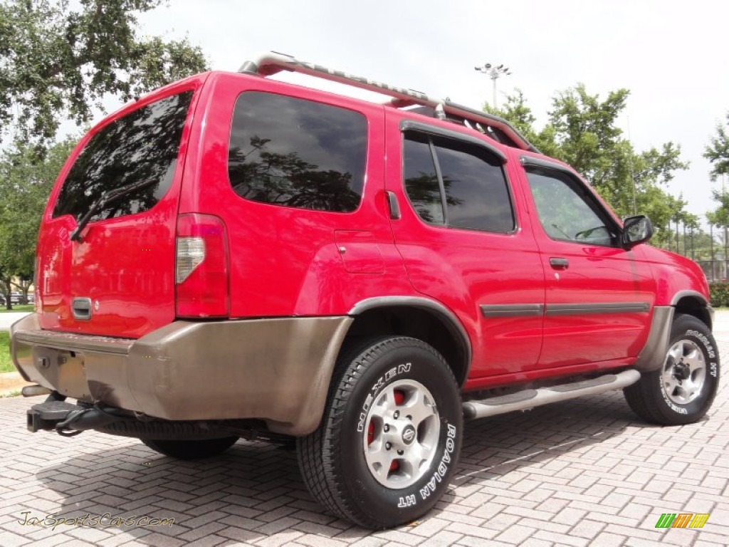 2000 nissan xterra se v6 4x4 in aztec red photo 5. Black Bedroom Furniture Sets. Home Design Ideas