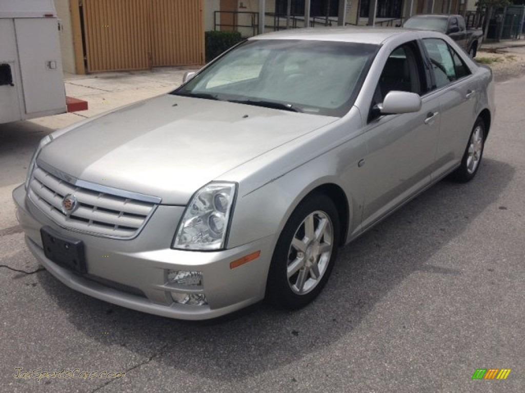 2006 Cadillac Sts V6 In Silver Smoke 177624 Jax Sports
