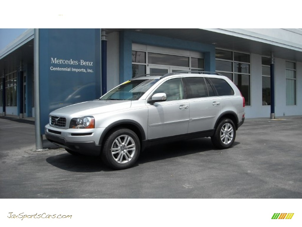 2010 volvo xc90 3 2 in silver metallic 546118 jax sports cars cars for sale in florida. Black Bedroom Furniture Sets. Home Design Ideas