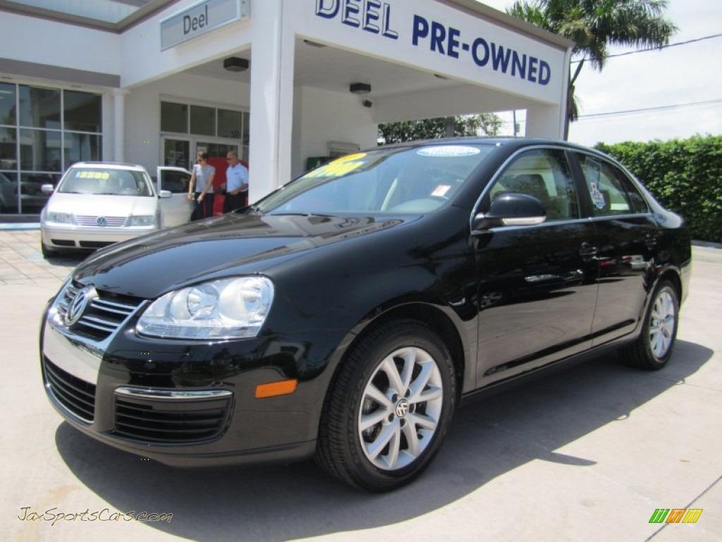 2010 Volkswagen Jetta Se Sedan In Black 053692 Jax