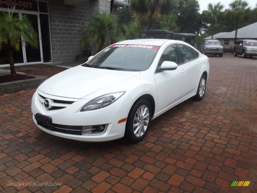 2011 mazda mazda6 i grand touring sedan in techno white. Black Bedroom Furniture Sets. Home Design Ideas