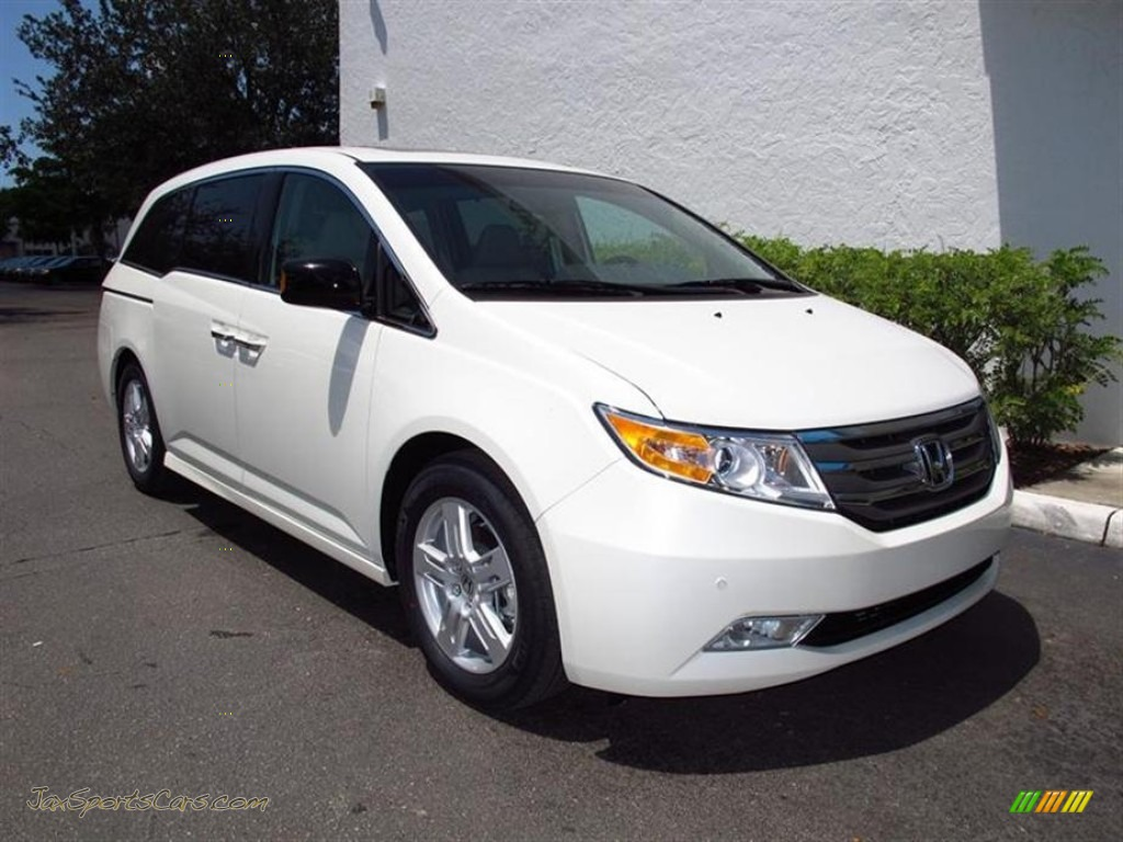 2012 honda odyssey touring elite in white diamond pearl. Black Bedroom Furniture Sets. Home Design Ideas