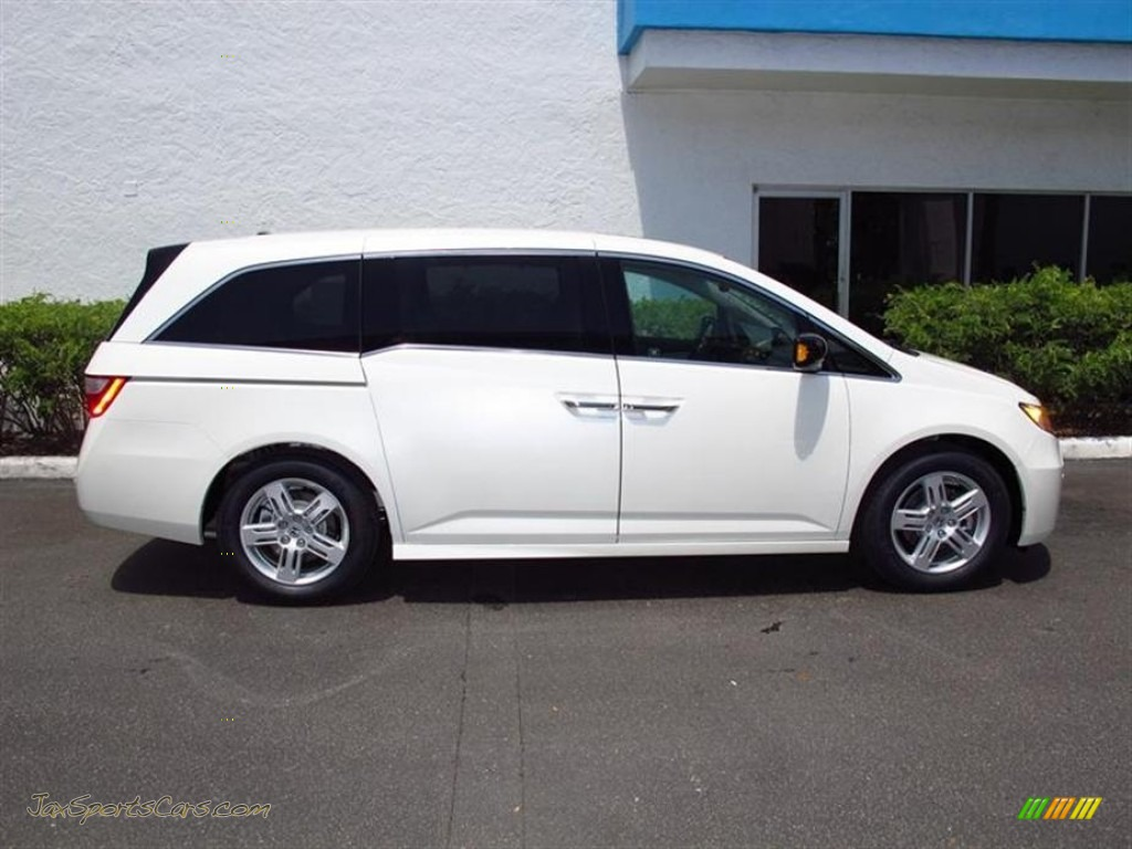 2012 honda odyssey touring elite in white diamond pearl photo 2 131670 jax sports cars. Black Bedroom Furniture Sets. Home Design Ideas