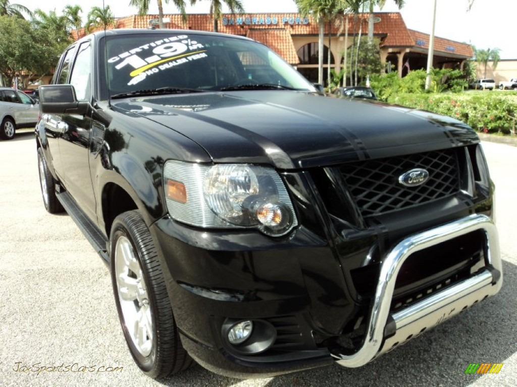 2010 ford explorer sport trac adrenalin in black a41573 jax sports cars cars for sale in. Black Bedroom Furniture Sets. Home Design Ideas