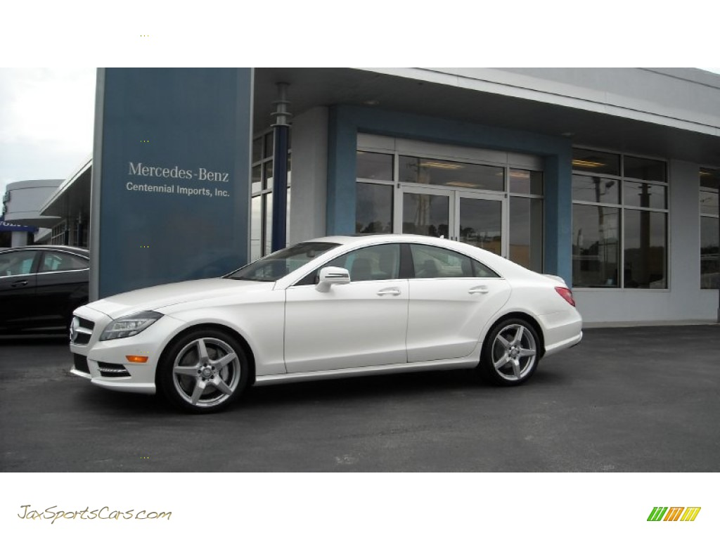 2013 mercedes benz cls 550 coupe in diamond white metallic for Mercedes benz 550s