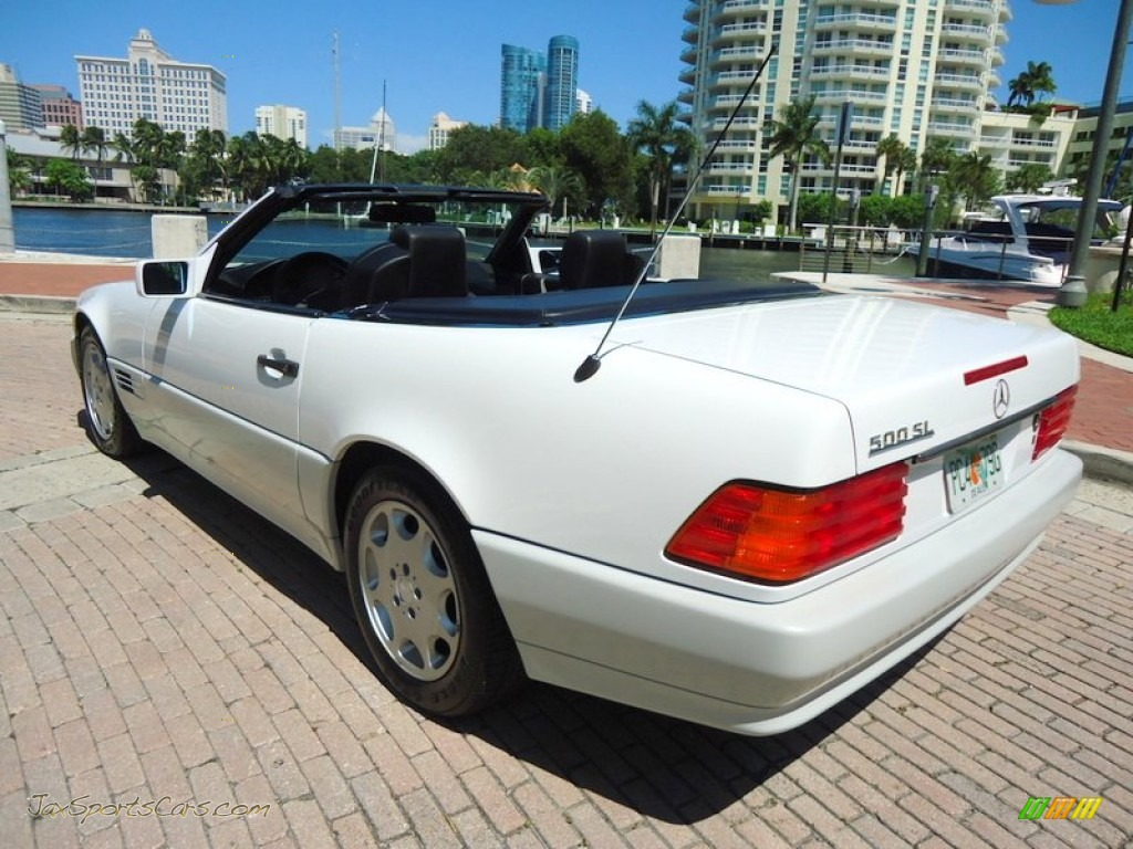 1992 mercedes benz sl 500 roadster in arctic white for 1992 mercedes benz sl500