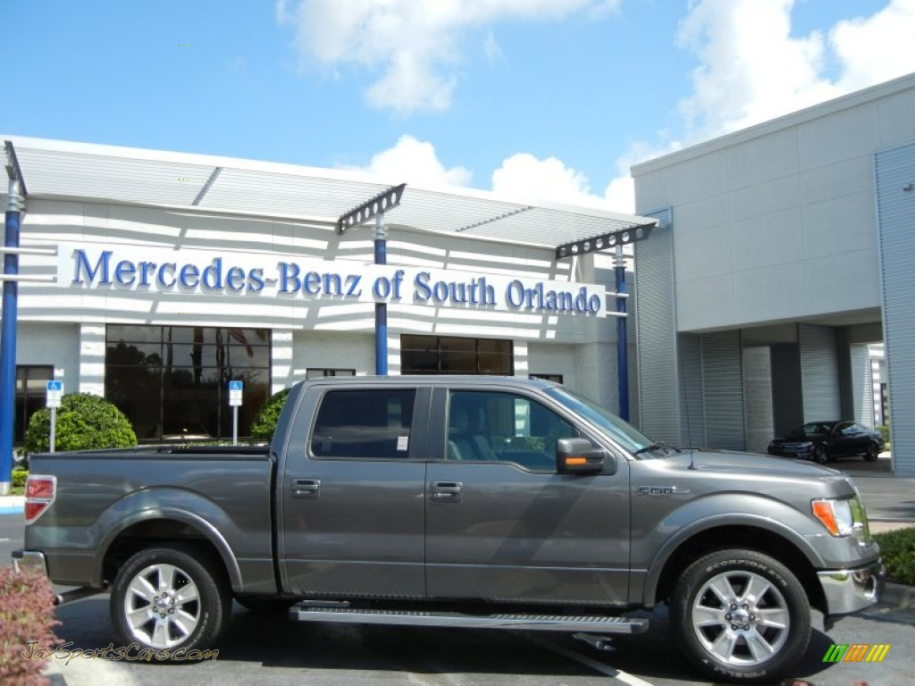 2011 ford f150 lariat supercrew in sterling grey metallic c45193 jax sports cars cars for. Black Bedroom Furniture Sets. Home Design Ideas