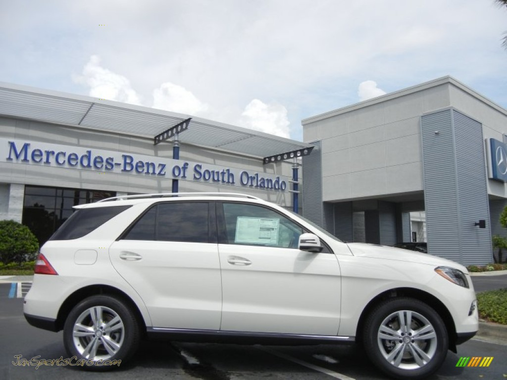 2013 mercedes benz ml 350 4matic in arctic white 122720 for 2013 white mercedes benz