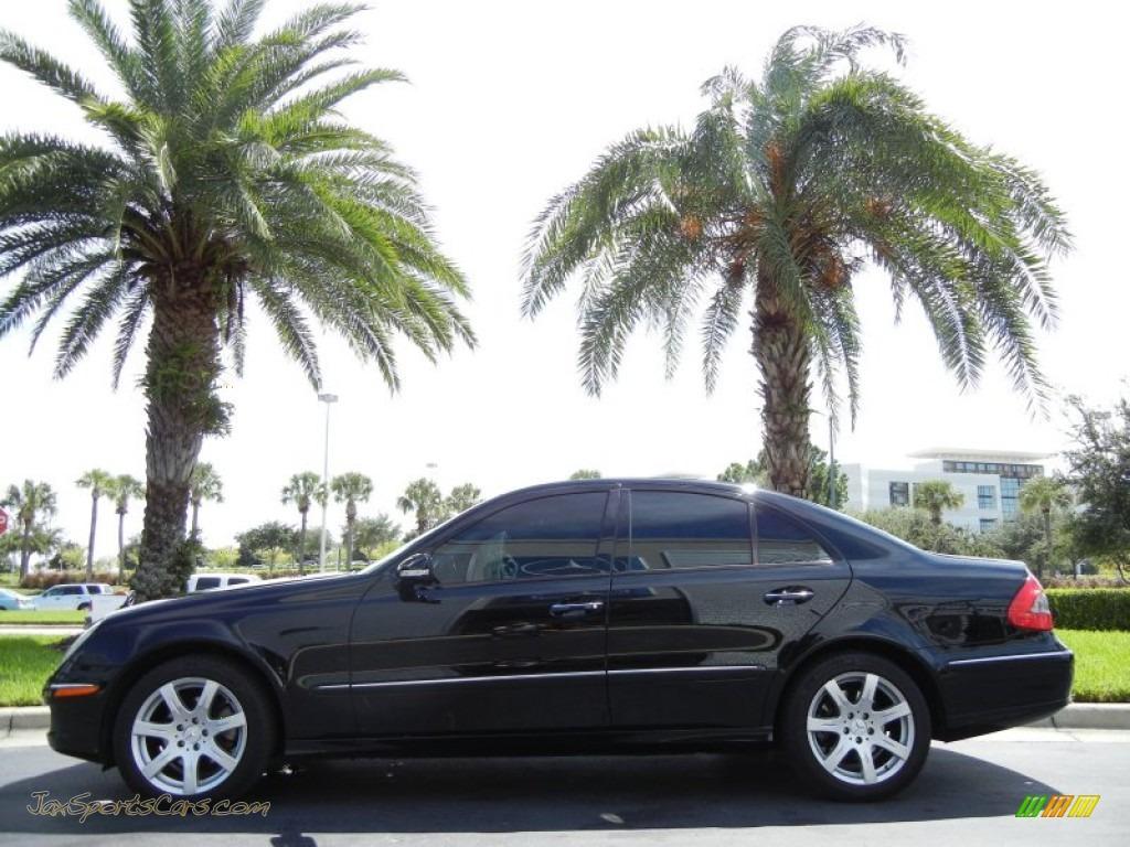 2007 mercedes benz e 350 sedan in black 078609 jax for 2007 mercedes benz e 350