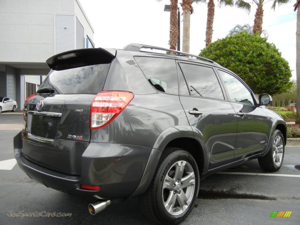 2009 toyota rav4 sport v6 4wd in magnetic gray mica photo 8 072983 jax sports cars cars. Black Bedroom Furniture Sets. Home Design Ideas
