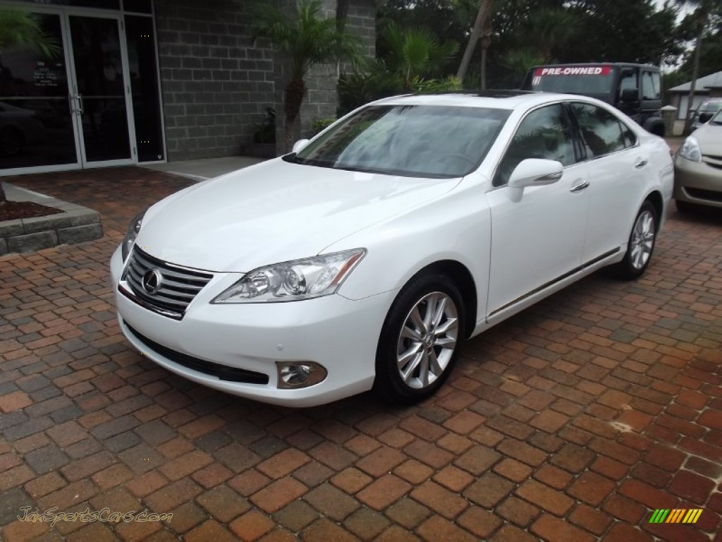 2011 lexus es 350 in starfire white pearl 450920 jax sports cars cars for sale in florida. Black Bedroom Furniture Sets. Home Design Ideas
