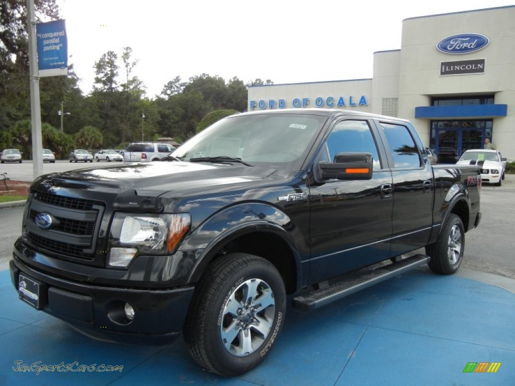 2013 Ford F150 Fx2 Supercrew In Tuxedo Black Metallic