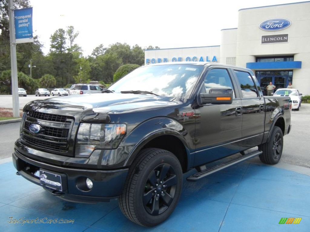 2013 ford f150 fx4 supercrew 4x4 in tuxedo black metallic a11625 jax sports cars cars for. Black Bedroom Furniture Sets. Home Design Ideas