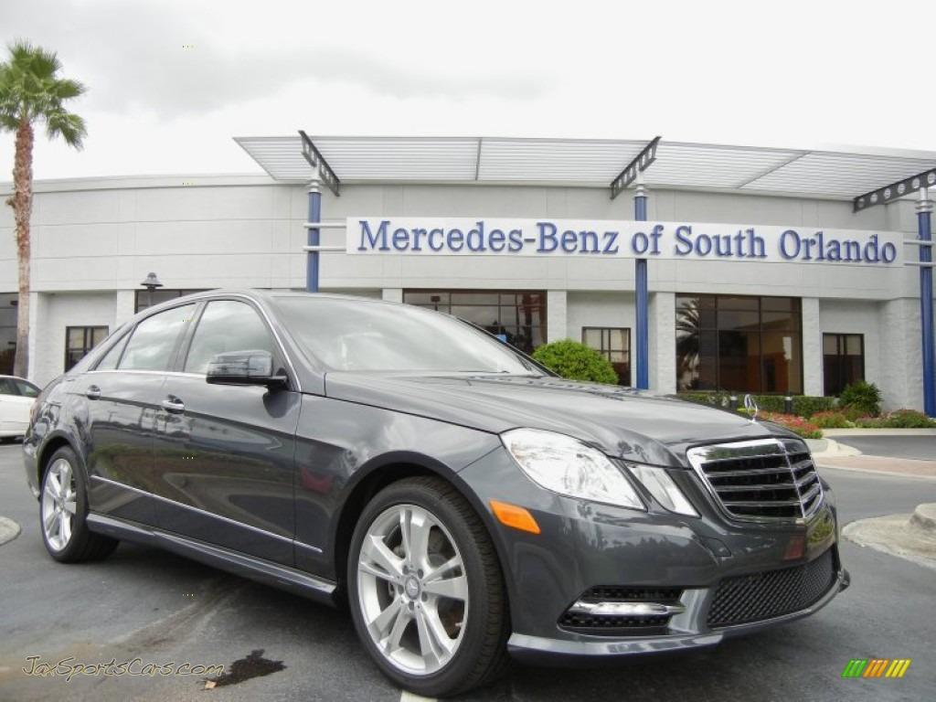 2013 mercedes benz e 350 sedan in steel grey metallic for Mercedes benz of south orlando orlando fl 32839