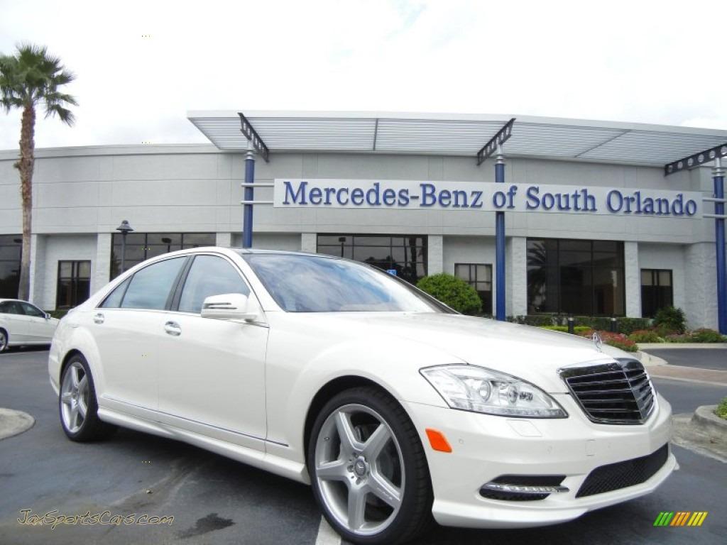 2013 mercedes benz s 550 sedan in diamond white metallic for 2013 white mercedes benz