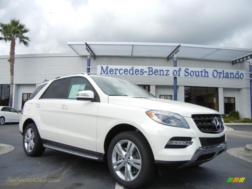 2013 mercedes benz ml 350 4matic in diamond white metallic for Mercedes benz of south orlando orlando fl 32839