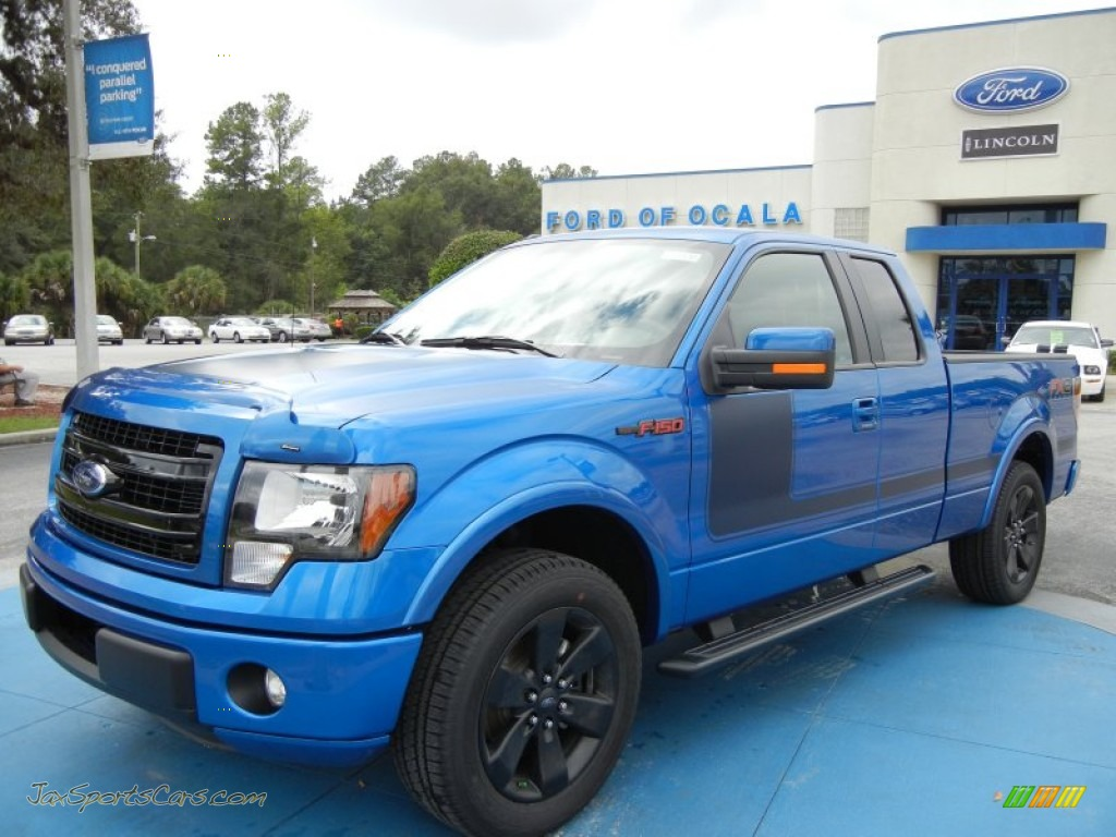 2013 ford f150 fx2 supercab in blue flame metallic a21300 jax sports cars cars for sale in
