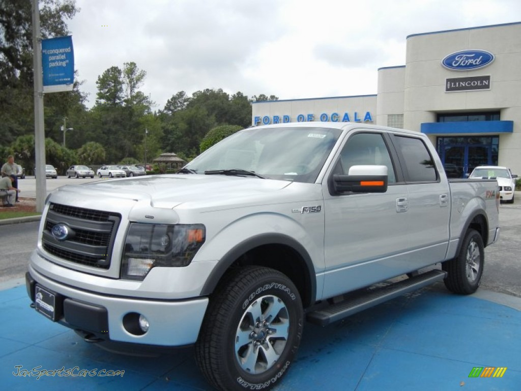 2013 ford f150 fx4 supercrew 4x4 in ingot silver metallic a02297 jax sports cars cars for. Black Bedroom Furniture Sets. Home Design Ideas