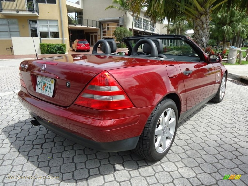 2000 Mercedes Benz Slk 230 Kompressor Roadster In Firemist Red Metallic 148186