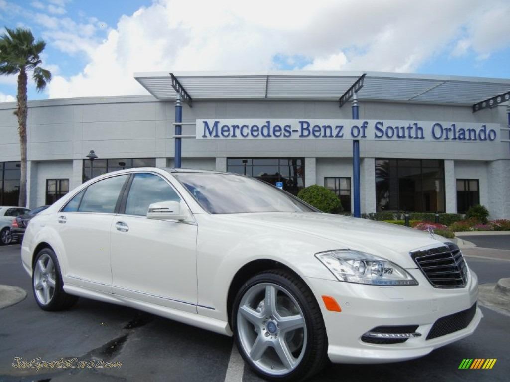 2013 mercedes benz s 550 sedan in diamond white metallic for Mercedes benz of south orlando orlando fl 32839