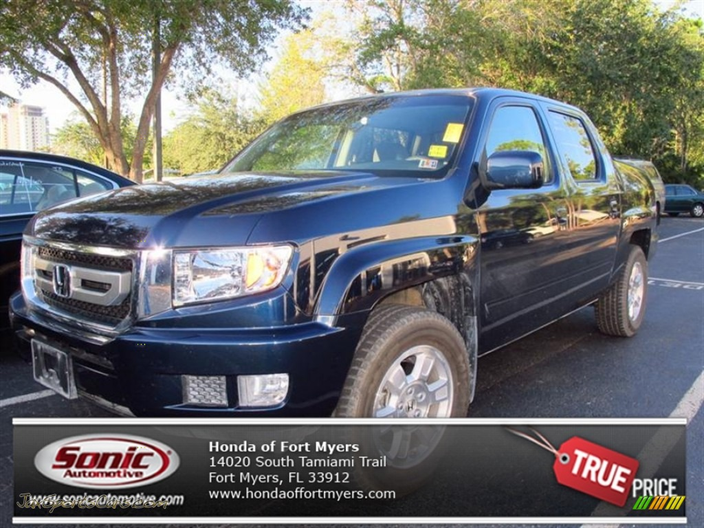 2011 honda ridgeline rts in bali blue pearl 009627 jax sports cars cars for sale in florida. Black Bedroom Furniture Sets. Home Design Ideas