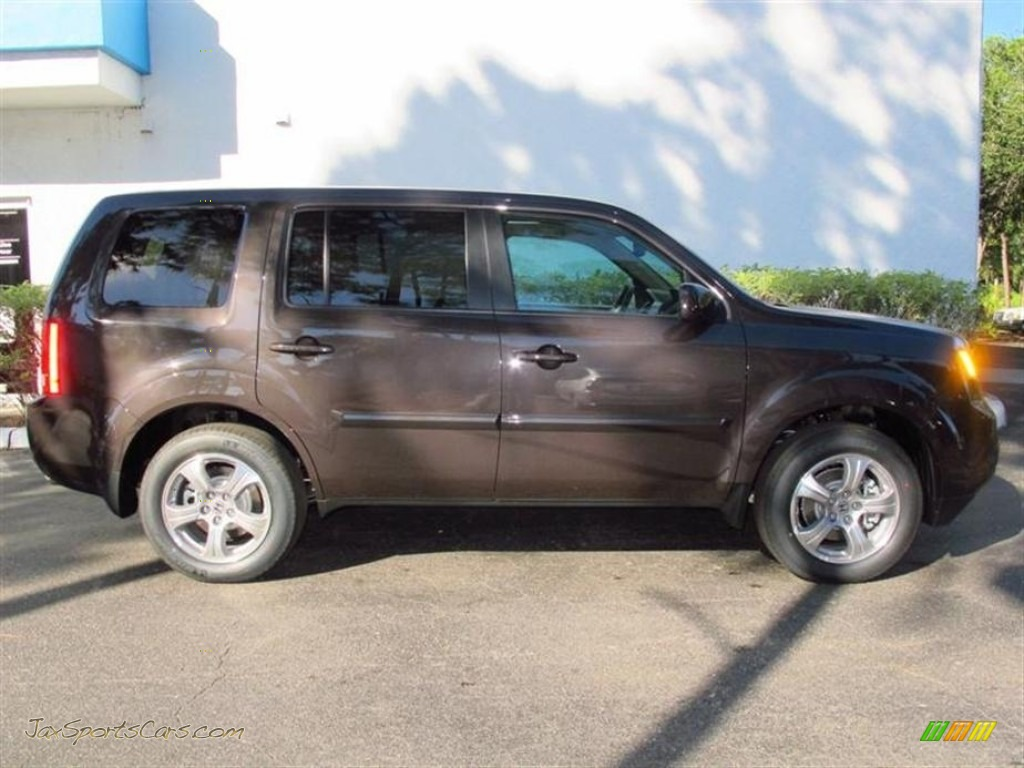 2013 Honda Pilot Ex L In Dark Amber Metallic Photo 2 007355 Jax Sports Cars Cars For Sale