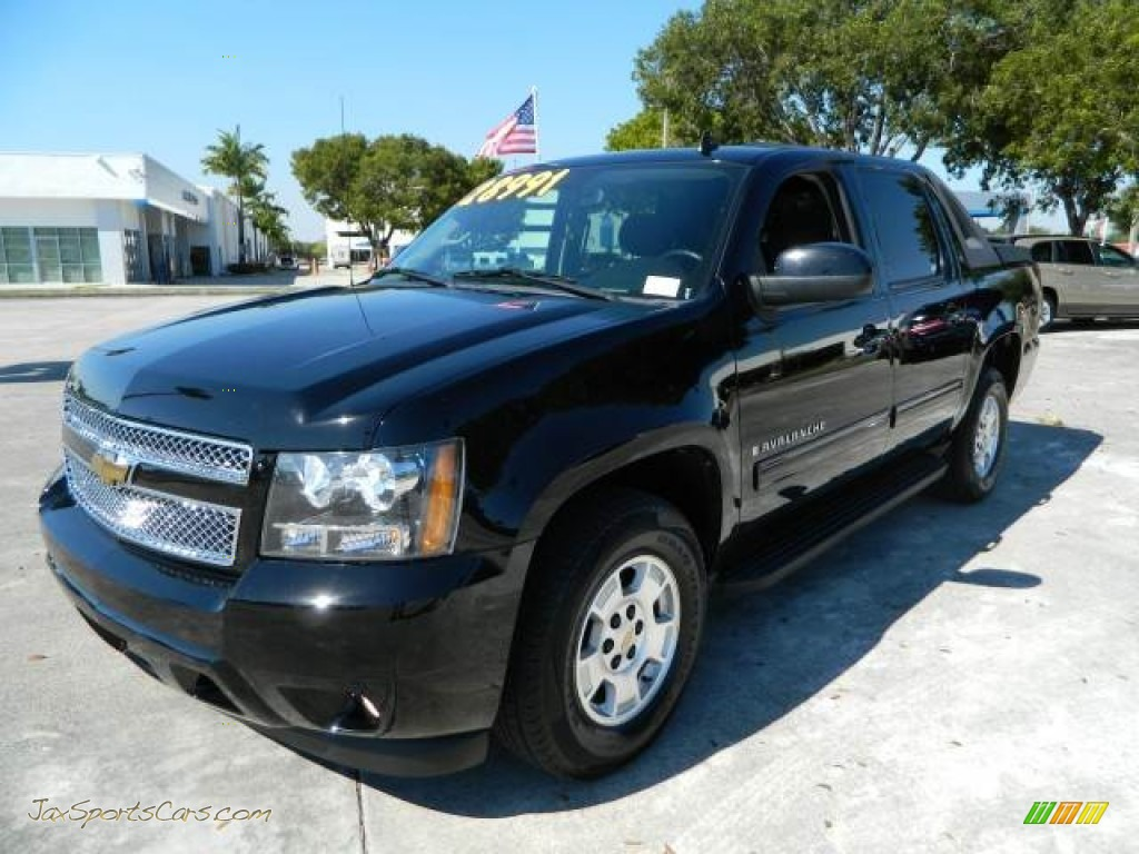 2009 chevrolet avalanche lt 4x4 in black 238126 jax sports cars cars for sale in florida. Black Bedroom Furniture Sets. Home Design Ideas
