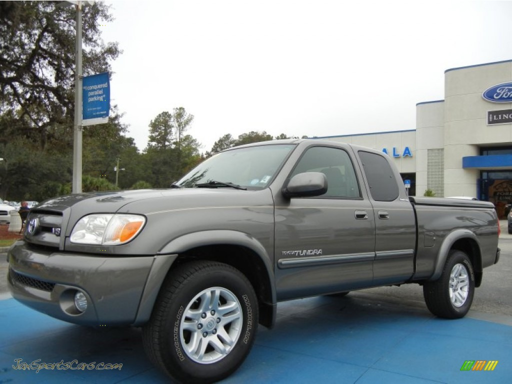 2006 toyota tundra limited access cab in phantom gray pearl photo 3 476054 jax sports cars. Black Bedroom Furniture Sets. Home Design Ideas