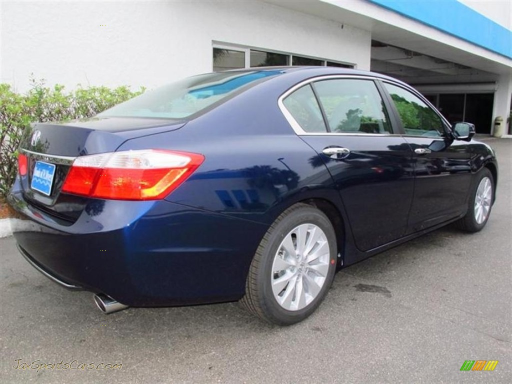 2013 Honda Accord Ex Sedan In Obsidian Blue Pearl Photo 3 046417 Jax Sports Cars Cars For