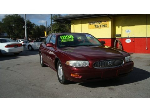 Medium Red Pearl 2000 Buick LeSabre Custom
