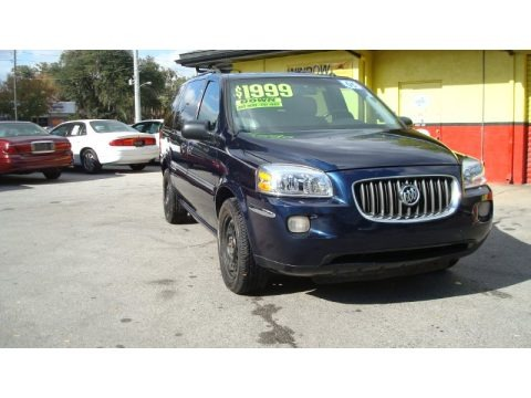 Ming Blue Metallic 2005 Buick Terraza CX