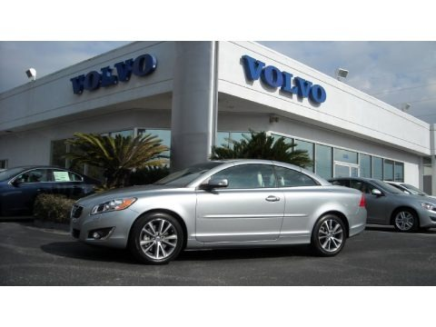 Electric Silver Metallic 2013 Volvo C70 T5