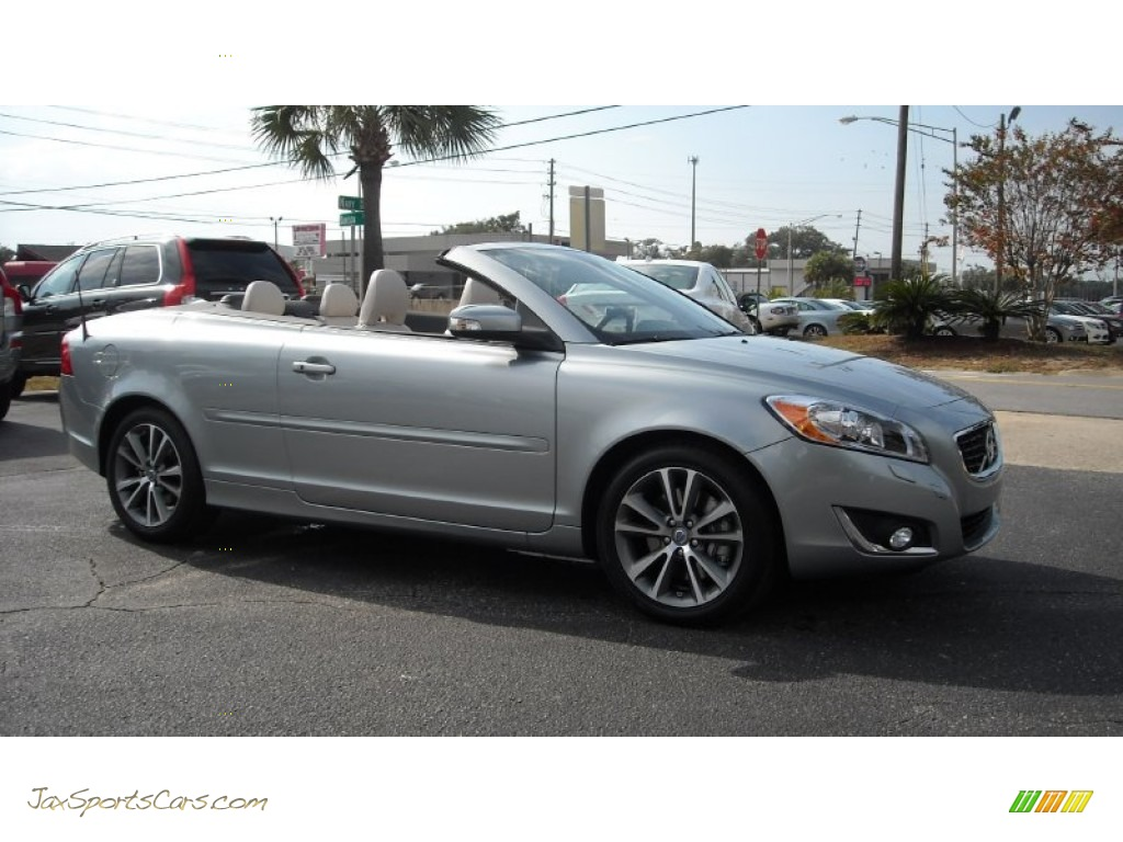 2013 volvo c70 t5 in electric silver metallic photo 16 139044 jax sports cars cars for. Black Bedroom Furniture Sets. Home Design Ideas