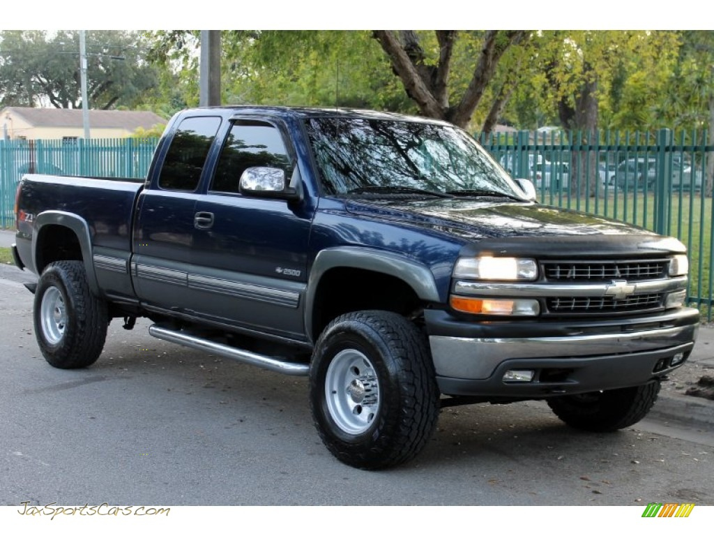 2000 chevrolet silverado 2500 ls extended cab 4x4 in indigo blue metallic photo 14 308697. Black Bedroom Furniture Sets. Home Design Ideas