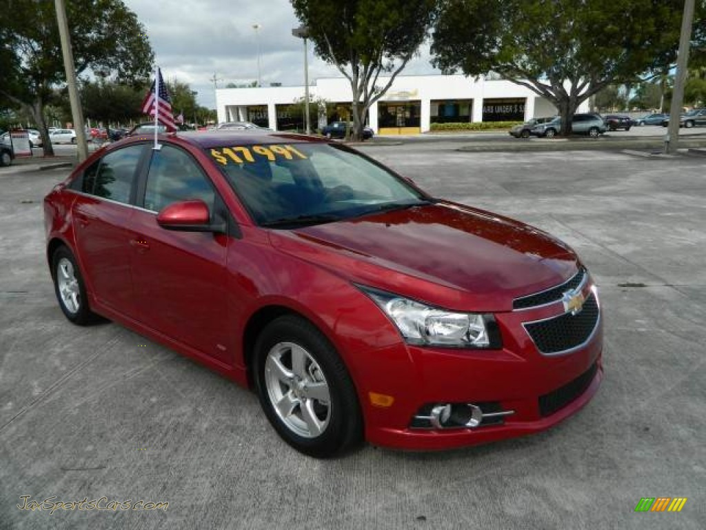 2012 chevrolet cruze lt rs in crystal red metallic 320468 jax sports cars cars for sale in. Black Bedroom Furniture Sets. Home Design Ideas