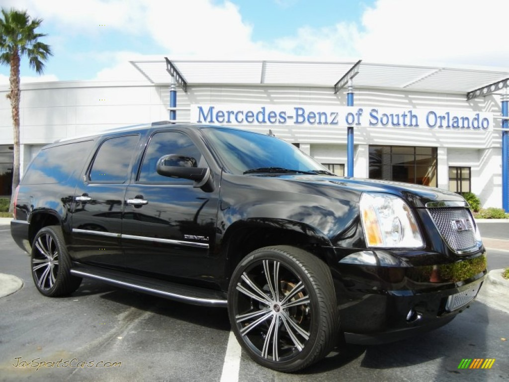 2012 gmc yukon xl denali in carbon black metallic 175811 jax sports cars cars for sale in. Black Bedroom Furniture Sets. Home Design Ideas