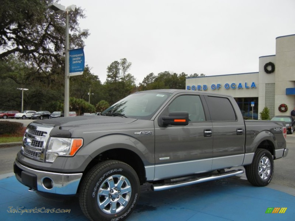 2013 Ford F150 Xlt Supercrew 4x4 In Sterling Gray Metallic