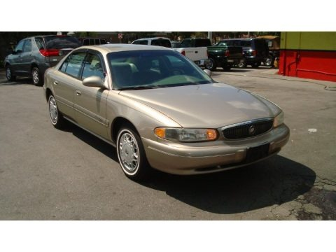Light Sandrift Metallic 1998 Buick Century Custom