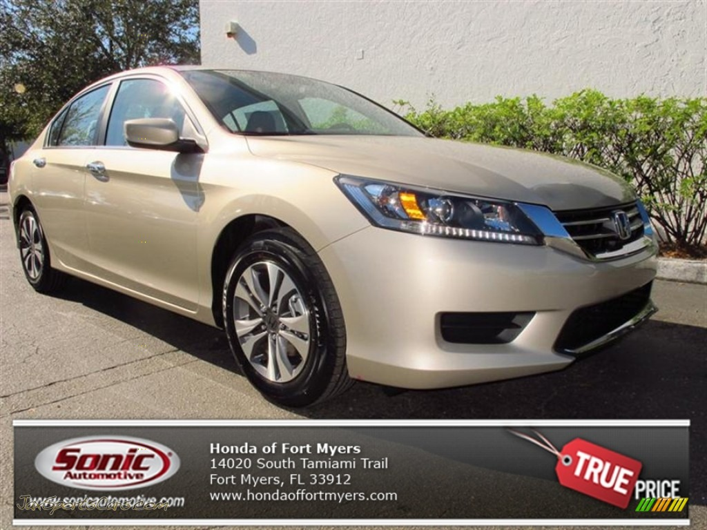 2013 Honda Accord Lx Sedan In Champagne Frost Pearl 075382 Jax Sports Cars Cars For Sale